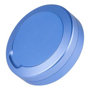Snusdosa blå färg
