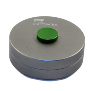 Spin Can Green Button