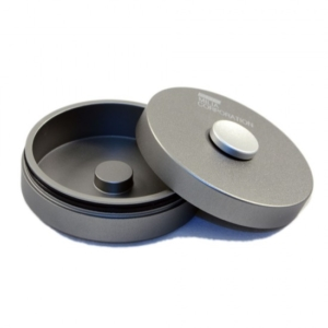 Spin Can Silver Button