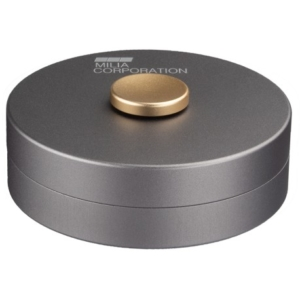Spin Can gold button