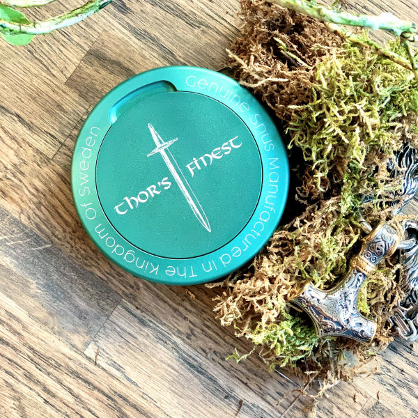 Thors Finest Green Snus Can